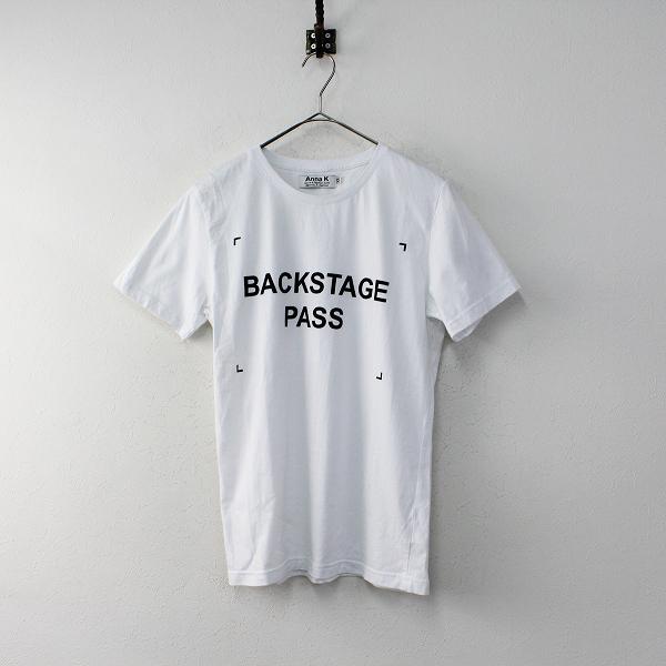 Deuxieme Classe ドゥーズィエムクラス Anna K プリント Tシャツ XS/ホワイト トップス【2400011900883】