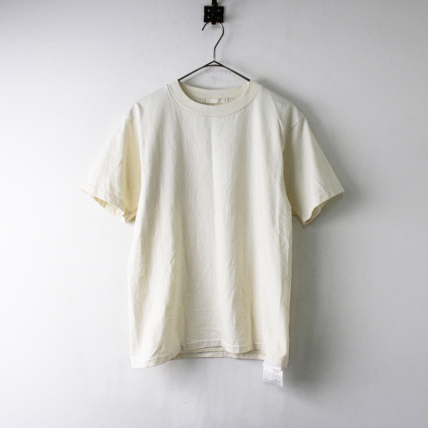 メンズ JOURNAL STANDARD ジャーナルスタンダード CUT DOWN ショートスリーブ TシャツS/ナチュラル【2400011914750】