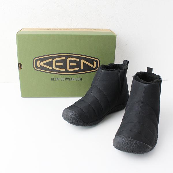 KEEN キーン HOWSER MID ハウザー ミッド サイドゴアブーツ レディース 23cm/ブラック シューズ【2400011915498】