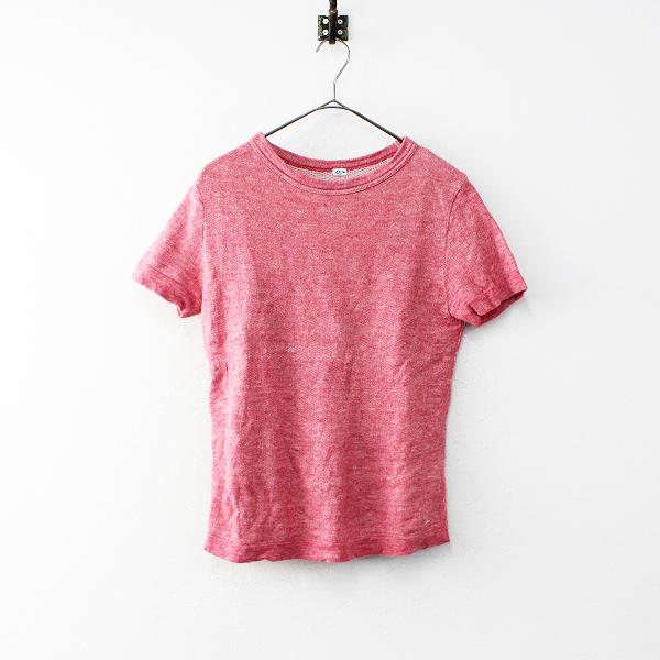 45R フォーティーファイブ モンサンミッシェル裏毛の45星Tシャツ 3/ピンク系 トップス 半袖 45rpm【2400011918819】