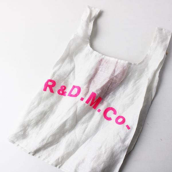 新品 2020 R&D.M.Co- オールドマンズテーラー STEEL LINEN SHOPPING BAG スーパーマーケットバッグ【2400011920287】