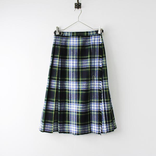 定番 人気 O'NEIL of DUBLIN オニールオブダブリン DRESS GORDON ドレスゴードン ウールキルトスカート US6【2400011920324】
