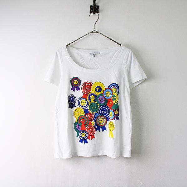 SEE BY CHLOE シーバイクロエ プリント Tシャツ I42/ホワイト カットソー【2400011921147】
