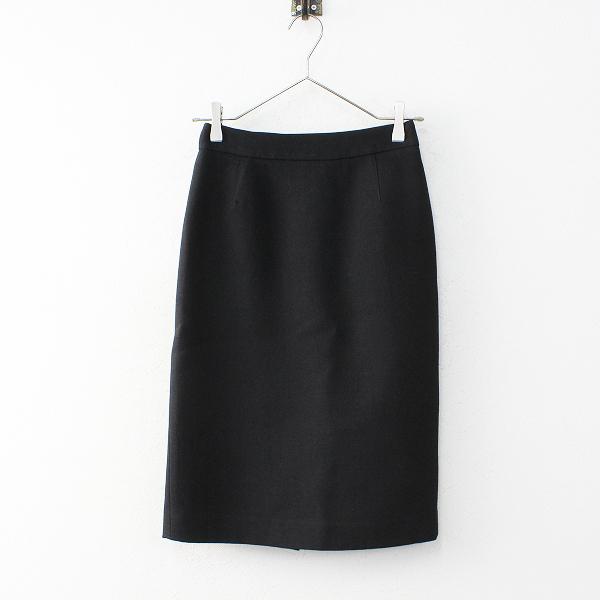 J&M DAVIDSON J&Mデヴィッドソン ウール タイトスカート 8/ブラック ペンシル【2400011939807】