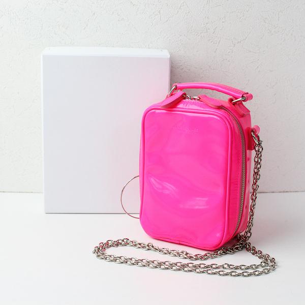 美品 2020SS 定価4万 JUNYA WATANABE COMME des GARCONS コムデギャルソン Small bag with handle ショルダーバッグ【2400011956057】