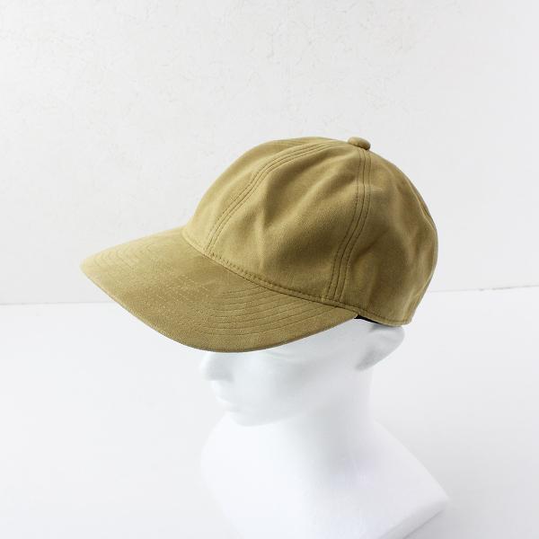 26MARKET Deuxieme Classe ドゥーズィエムクラス Faux Suede Cap /ベージュ スウェード キャップ 帽子 ヘア【2400011966544】