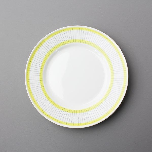 GUSTAVSBERG グスタフスベリ PIKE ピケ ケーキ プレート 17.5cm/ホワイト イエロー 食器 お皿 北欧【2400011967459】