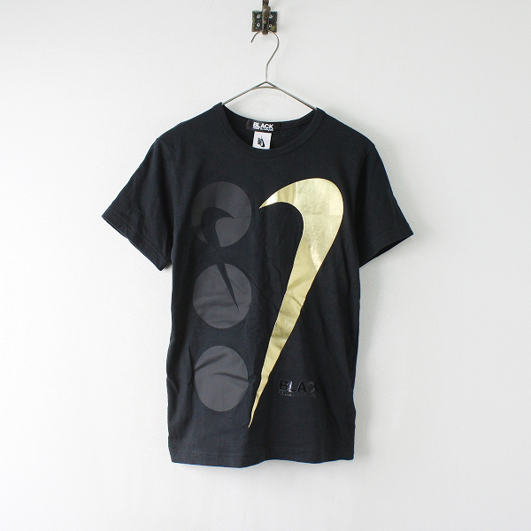 2019SS BLACK COMME des GARCONS × NIKE ブラックコムデギャルソン CT2016-010 コラボ Tシャツ S/ブラック【2400012018297】