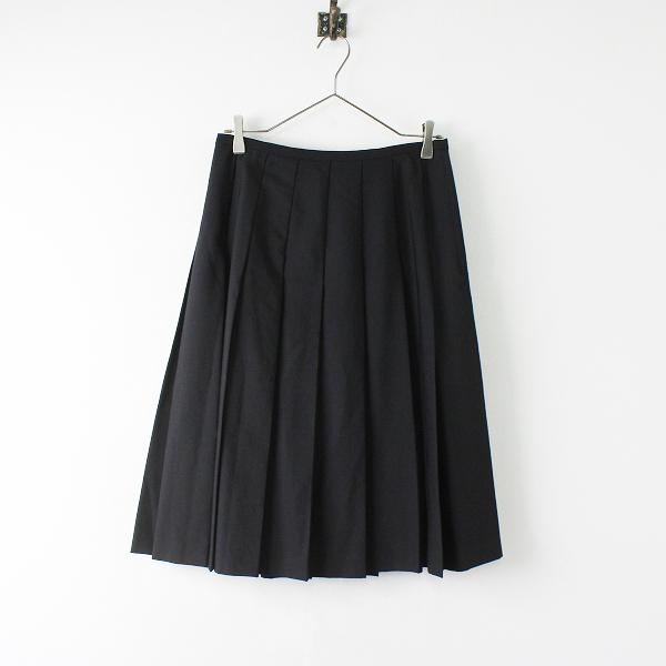 コムコム COMME des GARCONS コムデギャルソン W11S090 プリーツ スカート M/ブラック ボトムス【2400012022386】
