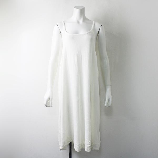 tumugu ツムグ コットン キャミソール ワンピース F/ホワイト【2400012031159】