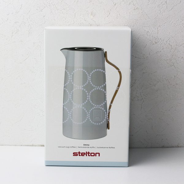 未使用品 mina perhonen x STELTON ミナペルホネン X ステルトン EMMA バキュームジャグ コーヒーポット 1.2L【2400012032880】