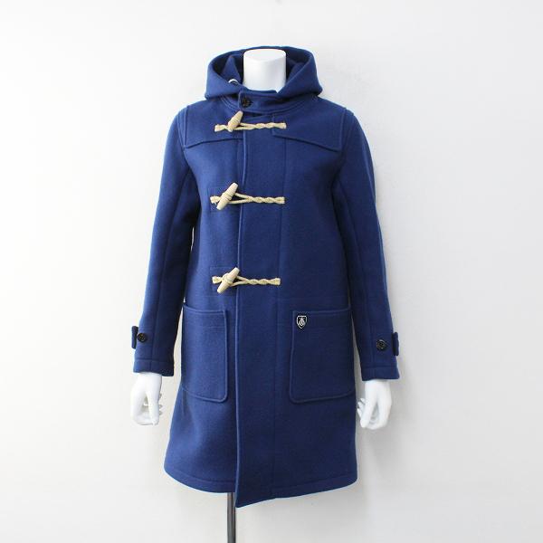 美品 ORCIVAL オーシバル オーチバル RC-8365 ウールメルトンダッフルコート 0/ブルー アウター【2400012045361】