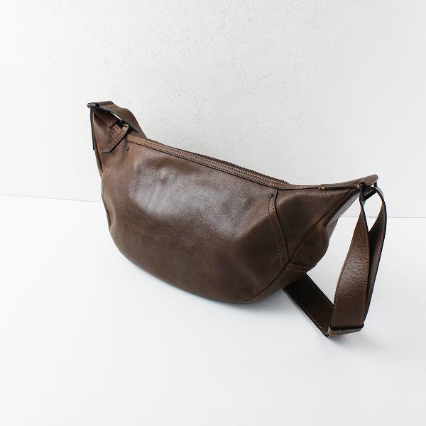 土屋鞄製造所 Session セッション ボディバッグ/ブラウン 鞄 ショルダーバッグ【2400012059702】