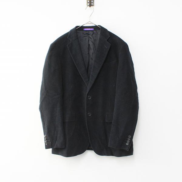メンズ Paul Smith COLLECTION ポールスミス コレクション ベロア テーラードジャケット LX/ブラック 【2400012064881】