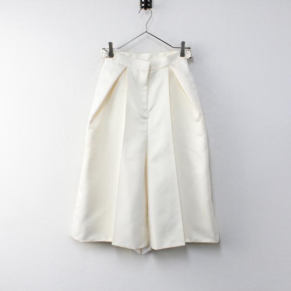 新作 定価7万 2020AW sacai サカイ 20-05274 Satin Skirt 0/エクリュ サテンスカート【2400012096981】-.