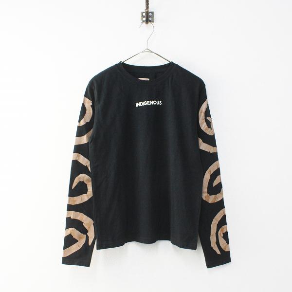 美品 2018SS KAPITAL キャピタル 天竺 クルーTシャツ 1/ブラック ロングスリーブ【2400012100176】