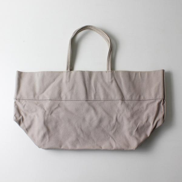 MARGARET HOWELL マーガレットハウエル キャンバス トートバッグ/ベージュ系 小物 鞄【2400012102187】