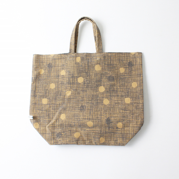 美品 2019AW mina perhonen ミナペルホネン blink トートバッグ/ベージュ 鞄【2400012143777】