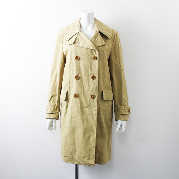 YAECA ヤエカ double breasted jacket (khaki) ダブルブレステッドジャケット M/ベージュ ロング アウター【2400012159785】
