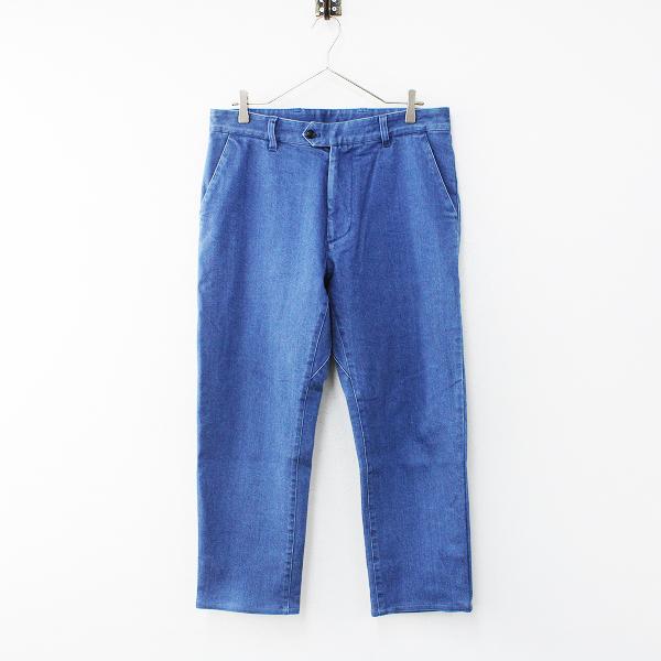 nanamica ナナミカ SUCF888 コットン デニム パンツ 32/ブルー インディゴ ボトムス メンズ【2400012161092】