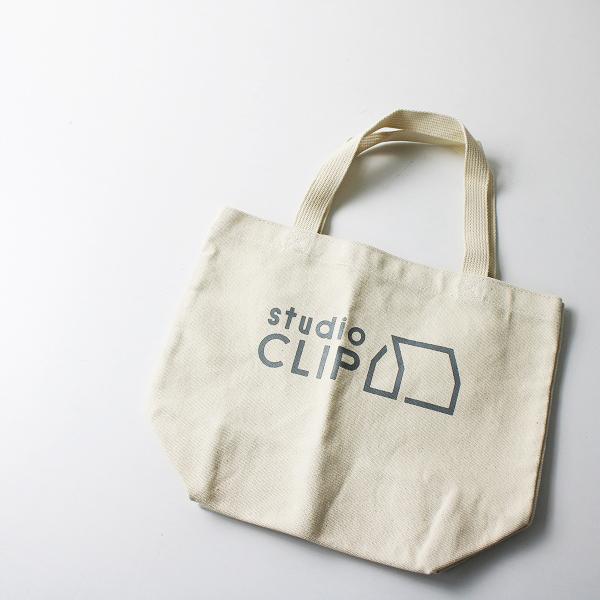 studio CLIP スタジオクリップ コットン キャンバス ハンド バッグ /キナリ トート 手提げ【2400012164185】