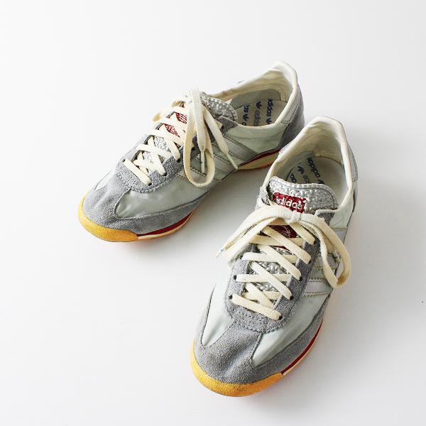 adidas アディダス SHW675001 ローカット スニーカー 23cm /グレー レースアップ シューズ【2400012165281】