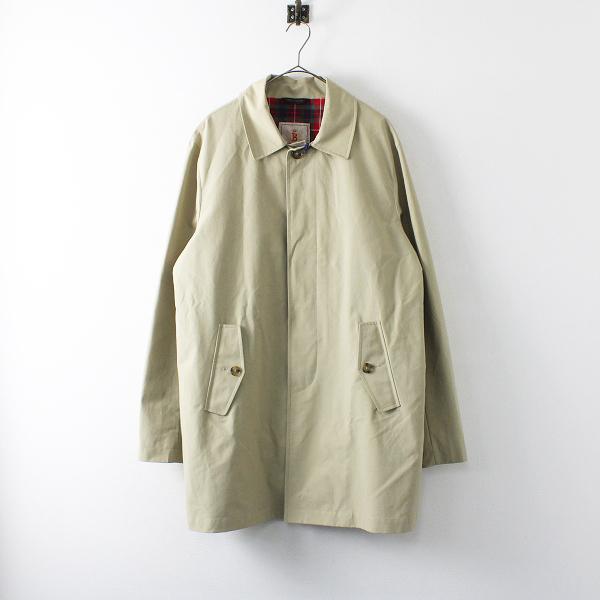 美品 BARACUTA バラクータ G10 ORIGINAL COAT オリジナルトレンチコート 42/ベージュ メンズ【2400012170537】