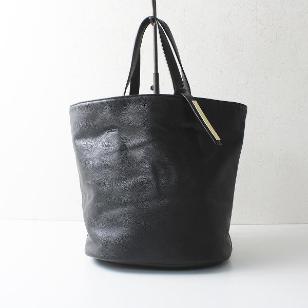 美品 LAZY SUSAN レイジースーザン レザートートバッグ/ブラック【2400012171183】