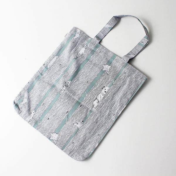 美品 marble SUD マーブルシュッド かくれんぼ プリント トートバッグ/鞄 アニマル【2400012173231】