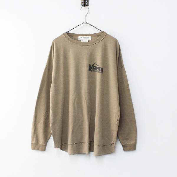 2019SS L'Appartement Deuxieme Classe アパルトモン REMI RELIEF レミレリーフ 別注 Print L/S Tee F/イエロー【2400012206526】-.