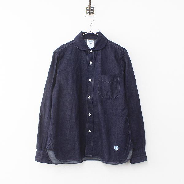 美品 ORCIVAL オーシバル オーチバル ロングスリーブデニムシャツ 1/インディゴ トップス【2400012214828】