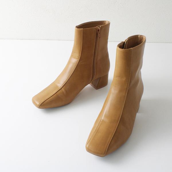 LOWRYS FARM ローリーズファーム サイドジップ ショート ブーツ M/キャメル シューズ【2400012215061】