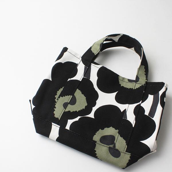 marimekko マリメッコ Pieni Unikko Seidi トートバッグ/ブラック 小物 鞄【2400012220676】