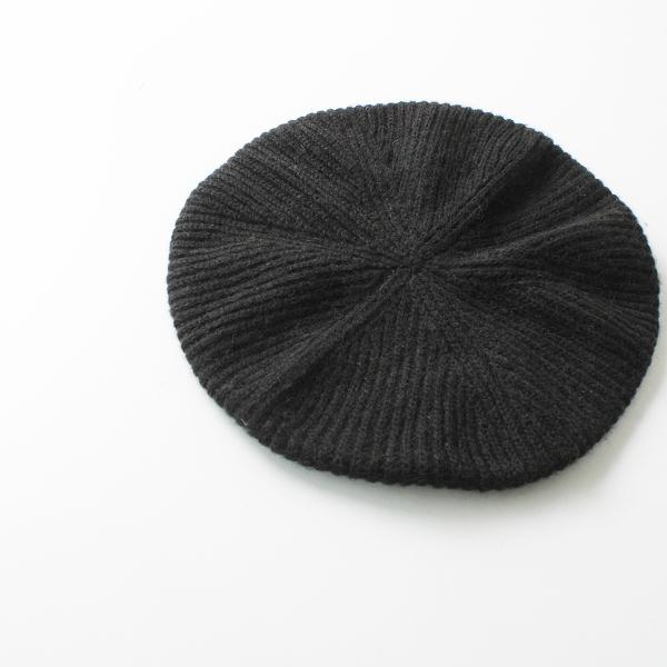 FACTORY ファクトリー キャメルニットベレー帽 / ブラック系 秋冬用 帽子【2400012230941】