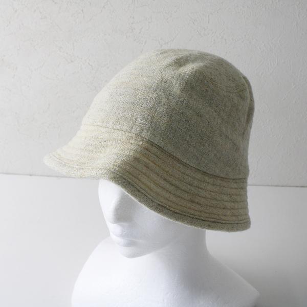 45rpm フォーティーファイブアールピーエム 縮絨ウール ハット 1/ライトベージュ系 アイボリー クリーム 帽子【2400012234604】