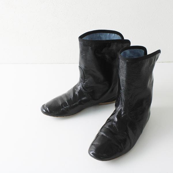 PORSELLI ポルセリ レザー ショートブーツ 35/ブラック【2400012237919】