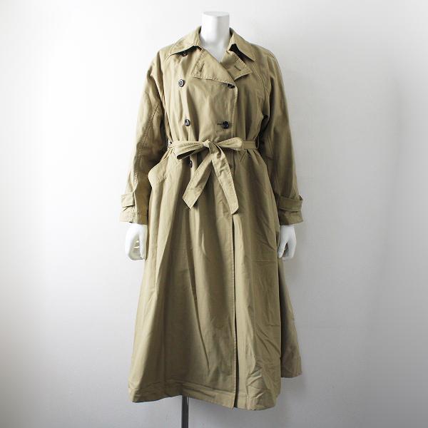 2019AW MICA & DEAL マイカアンドディール back-tucked trench coat バックタック トレンチコート F/キャメル ライナー付【2400012241169】
