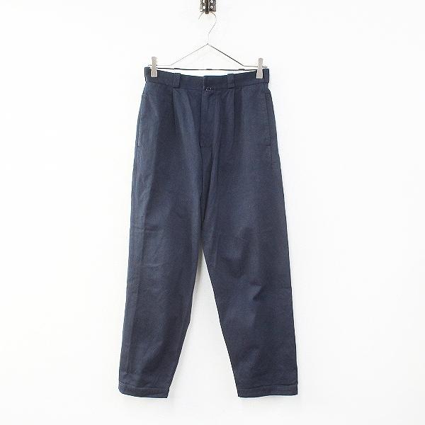 YAECA ヤエカ 166201 CHINO CLOTH PANTS TAC TAPERED チノクロス タックテーパードパンツ 28/ネイビー【2400012253834】