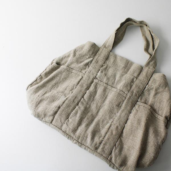 fog linen work フォグリネンワーク リネン トートバッグ/キナリ 鞄【2400012260085】