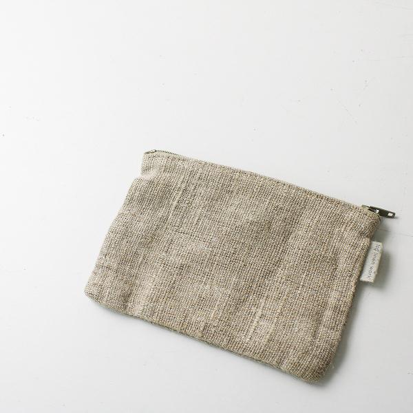 fog linen work フォグリネンワーク リネン ミニポーチ(C)/キナリ 小物【2400012260153】