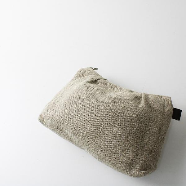 fog linen work フォグリネンワーク タック ポーチ 大/キナリ 小物【2400012260160】