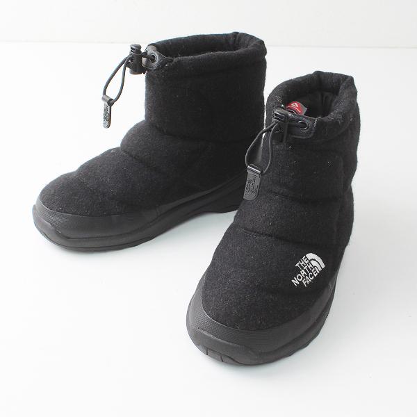THE NORTH FACE ザノースフェイス プリマロフト ヌプシ ブーツ 23.0/ブラック 靴 アウトドア【2400012287891】
