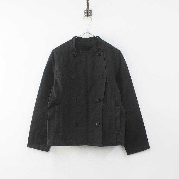 2018AW nest Robe ネストローブ ファナージュハイカウントコックジャケット F/ブラック アウター【2400012301344】