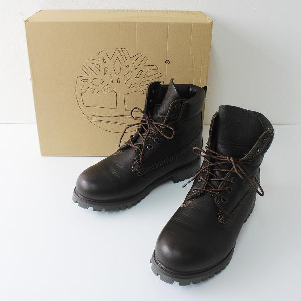 メンズ Timberland ティンバーランド 27567 ショートブーツ 8/ダークブラウン 靴 【2400012305946】