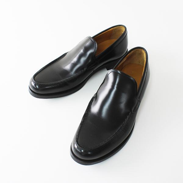 REGAL リーガル レザーコインローファー 24.5cm /レザー ブラック 黒 ビジネス 革靴 スリッポン ユニセックス【2400012323063】
