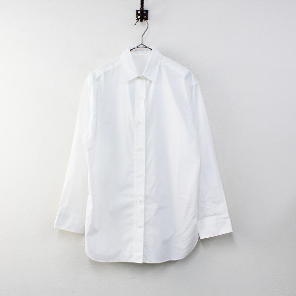 未使用 2020AW Deuxieme Classe ドゥーズィエムクラス 20050500705010 washer シャツ F/ホワイト【2400012327184】-.