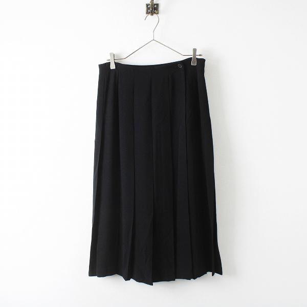 L'EQUIPE YOSHIE INABA レキップヨシエイナバ プリーツスカート 13/ブラック ボトムス【2400012327689】