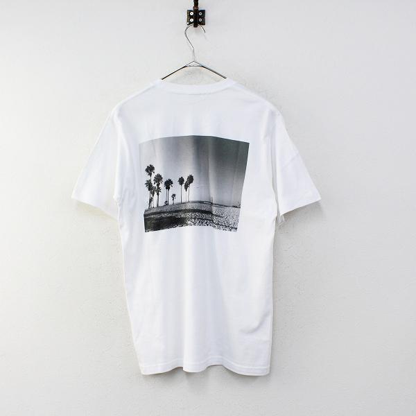 未使用 2020SS Deuxieme Classe ドゥーズィエムクラス Photo T-shirt F/ホワイト フォトTシャツ【2400012332850】-.