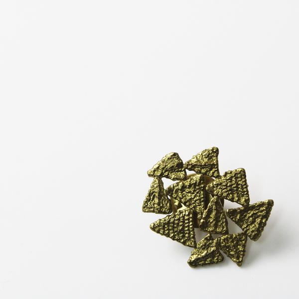 【期間限定30%OFF!】accessories mau アクセサリーマウ モチーフ ピンバッジ/真鍮 ゴールド【2400012339248】