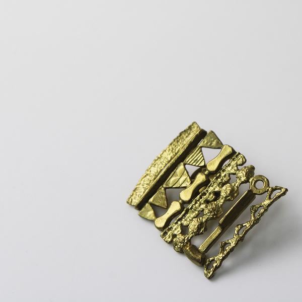 【期間限定30%OFF!】accessories mau アクセサリーマウ モチーフ ピンバッジ/真鍮 ゴールド【2400012339255】